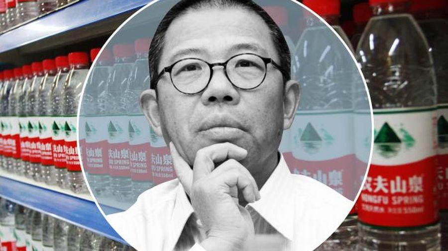 鍾睒睒:中國瓶裝水市場頂端的「獨狼」 - FT中文網